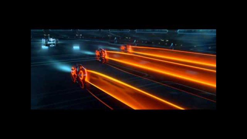 Daft Punk - Fall (Dj DLG Lazor TRON: Legacy Music Video Remix)[Full 1080 HD]