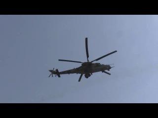 يعرض لاول مرة عمليات الجيش السوري في ريف السلمية الشرقي و سحق داعش 25 7 207