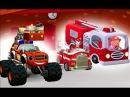 Мультики про Машинки Вспыш Маршал Молли Пожарные Спасатели Игра для Детей