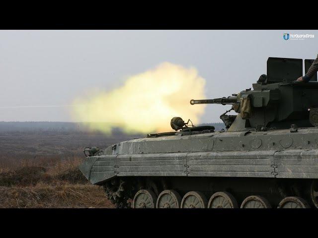 Вогневі випробування бойових модулів Шквал та Стілет для БМП