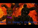 [SFM FNaF] Wolf In Sheep's Clothing (Cover by Caleb Hyles ft. Jonathan Young)