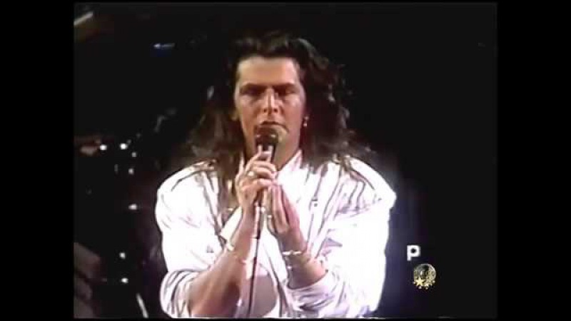 Thomas Anders Live in Chile 1988 Vina Del Mar First Show