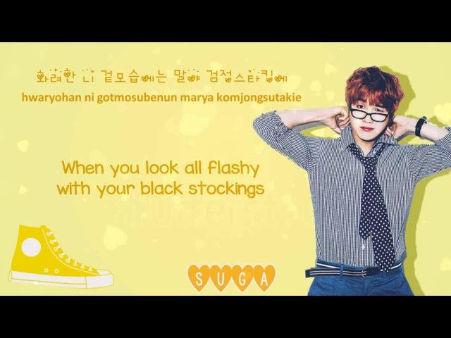BTS (Bangtan Boys) - Converse High (Color Coded HangulRomEng Lyrics)