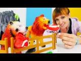 Видео для детей #ВеселаяШкола. Строим ЗООПАРК вместе с Машей #КапукиКануки. Песе ...