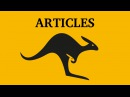 Articles a an the Learn English Canguro English