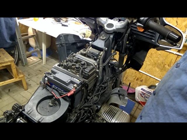 BMW R1150-R1200 Прокачка интегральной ABS