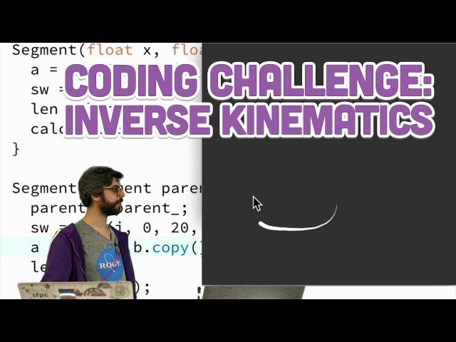 Coding Challenge 64.2: Inverse Kinematics