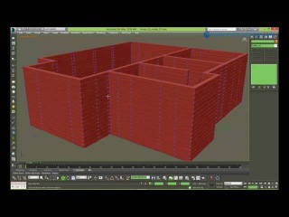 Брус или сруб модификатором SWEEP в 3DsMAX (Рус)