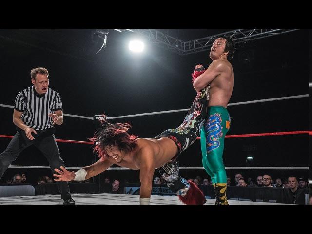 Hiromu Takahashi vs. Ryusuke Taguchi (Pro Wrestling World Cup Japan - 2nd Round)
