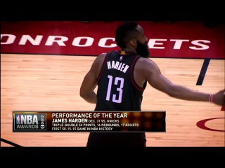 Inside the NBA: Performance of the Year Nominees