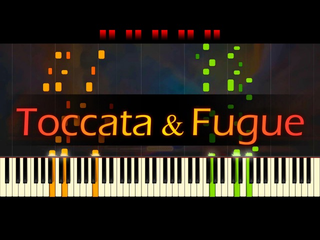 Toccata and Fugue in D minor, BWV 565 J.S. BACH