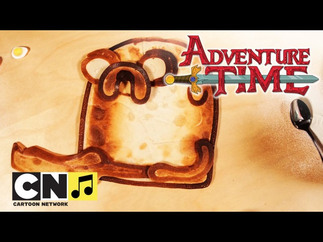 Время приключений | Блины с беконом (Блинный Микс) | Cartoon Network
