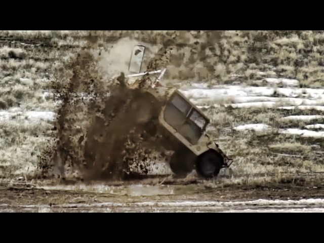 A-10 Warthogs Target Practice On Humvees • Slow Mo Hits