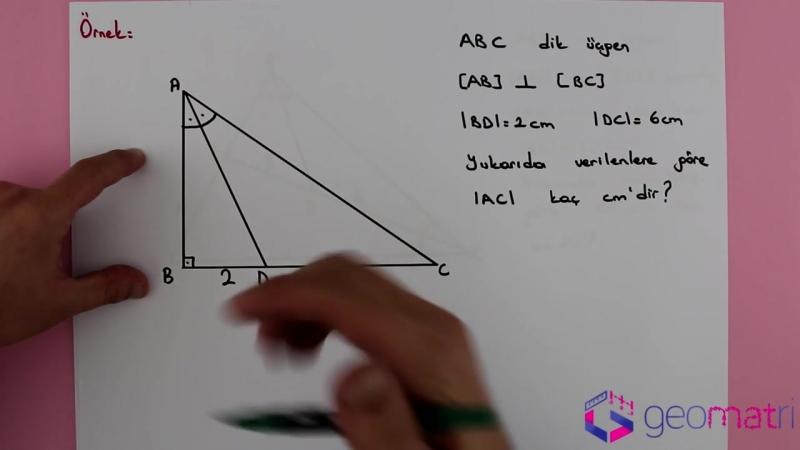 Üçgende Açıortay 2 ► İç Açortay Teoremi - Konu Anlatımı ve Soru Çözümleri