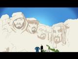 Snoop Dogg Feat. Redman, Method Man & B-Real – Mount Kushmore (720p) [2017]