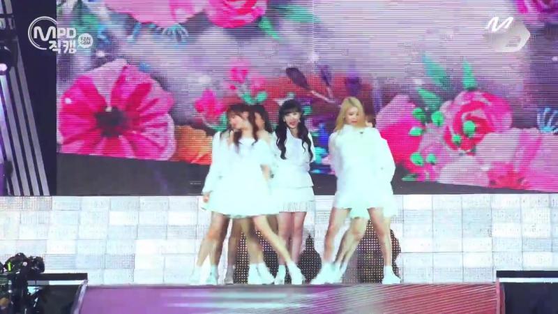 170525 Lovelyz - Right Now, Us @ KCON 2017 Japan x M Countdown (4K fancam)