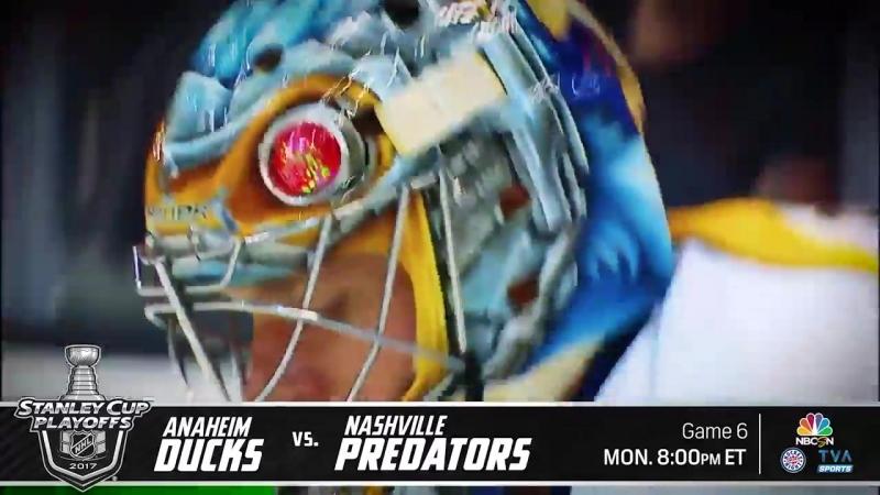 Хоккей. НХЛ - плей-офф. Нэшвилл Предаторз – Анахайм Дакс: по стандартному сценарию