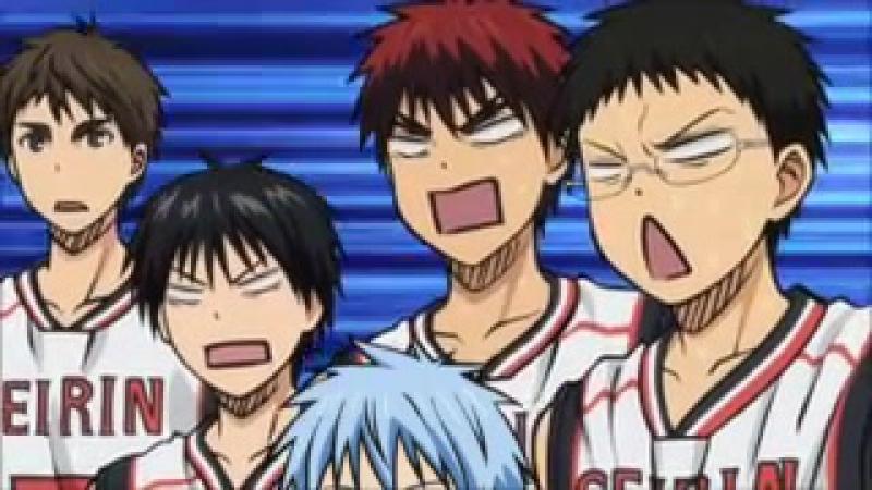 Баскетбол Куроко / Kuroko no basuke (прикол)