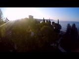 Абхазия, Шакуранский водопад, прыжок