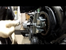 Cam shaft Sprocket Puller Demonstration Clip from DIY Timing Belt change