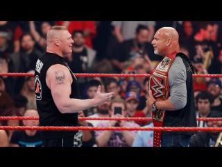 РУС.: 545TV WWE RAW: Леснар атакует Голдберга -