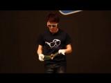 Этот парень играет в Йо-Йо, как никто другой на планете, и его выступление поражает (Hajime Miura - Yo-yo Championships 2017)