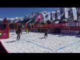 Любительское видео с 1-го Чемпионата России по  снежному волейболу.mp4