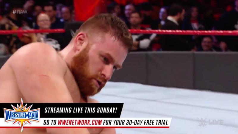 матч Сэми Зэйна против Оуэнса (вмешательство Джо и Джерико)