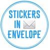 Stickers in Envelope   Наклейки в конверте