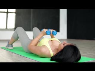 Подтягиваем грудь. Упражнения для укрепления грудных мышц [Workout   Будь в форме]