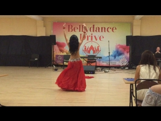 Ponomareva Anastasia. 1 place Professionals Raks Sharki. Festival Belly Dance Drive