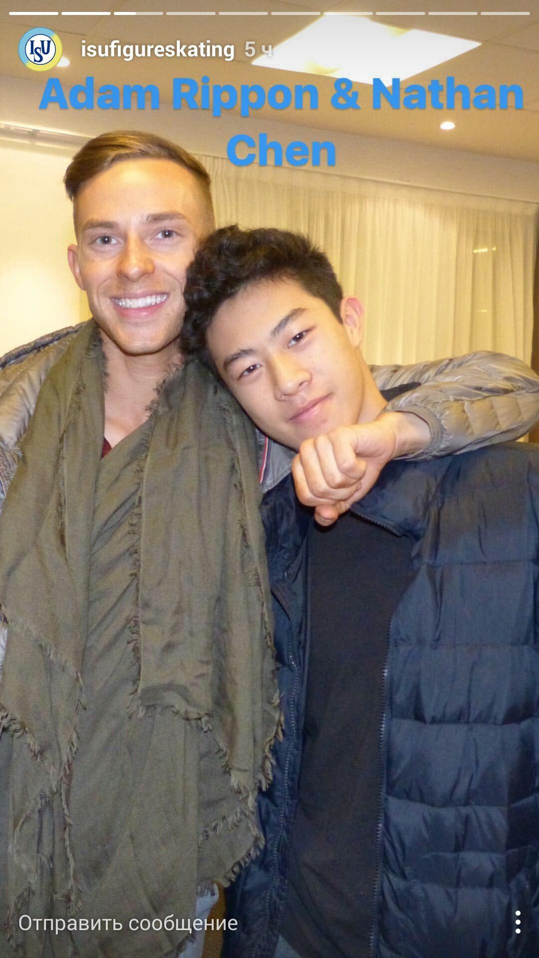 Nathan chen, Adam Rippon