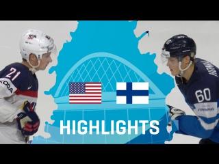 Четвертьфинал ЧМ-2017. США - Финляндия - 0:2