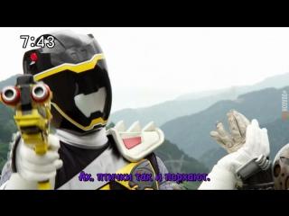 [dragonfox] Zyuden Sentai Kyoryuger - 22 (RUSUB)