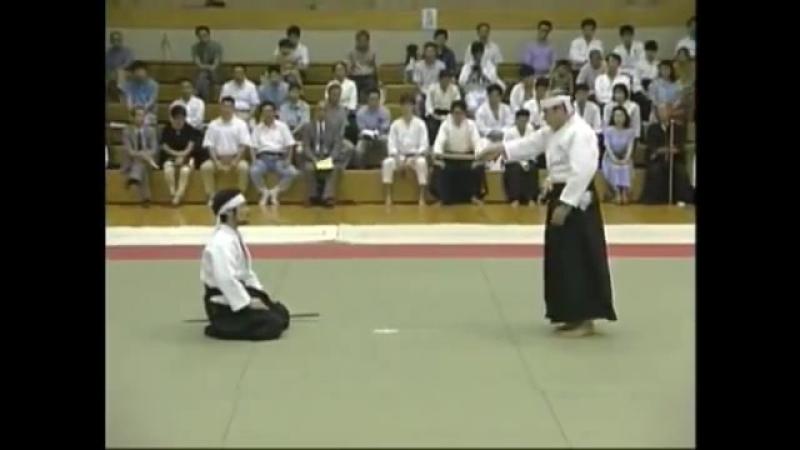 Ju Jutsu.Тендзин Синье Рю Дзю Дзюцу.Демонстрация техники- 2.