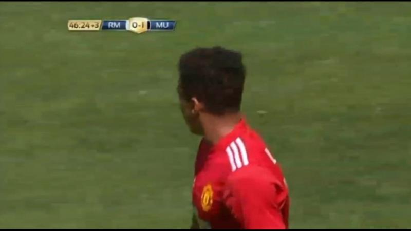 Реал Мадрид - Манчестер Юнайтед 0:1 Джесси Лингард
