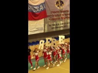 Окрытый Кубок СПб по Черлидингу 17.12.2016 Парад