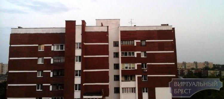 Всё под контролем? Девушки делали опасное селфи на крыше