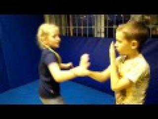 Polar Fox Kung Fu: Polar Fox Kung Fu: Sticky hands training routine. Juniors. Part 2.