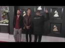 IMPEACH TRUMP Jacket at Grammys 2017 - Highly Suspect