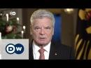 Gauck ruft zu Mitmenschlichkeit auf | DW Nachrichten