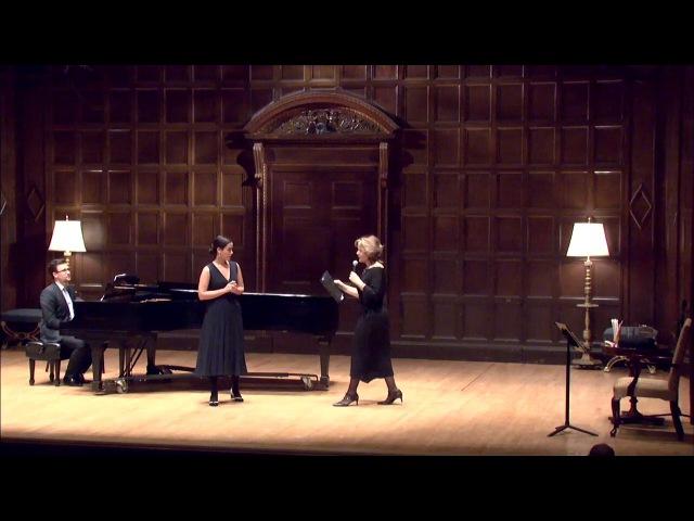 Renée Fleming Spring 2017 Masterclass Eastman School of Music