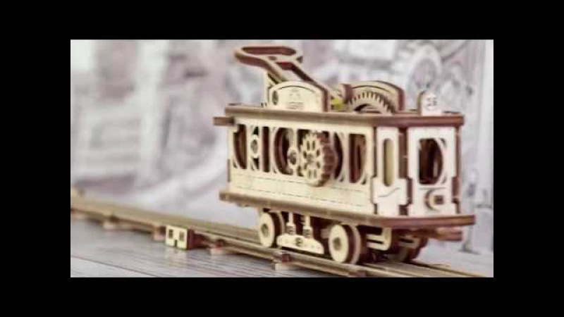 Модель Трамвайная линия - это первая модель из новой серии Механический город