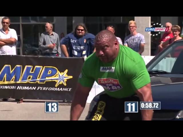 Strongman Champions League 2014 Венгрия (Дьёр) | стронгмен 2014 видео