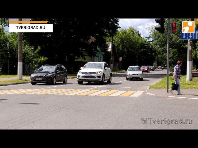 Водители игнорируют новую схему движения на улицах Бебеля и Брагина в Твери