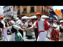 Feria ANDALUZA ALHAURIN de la TORRE 2017 baile folcklorico espanol en la plaza 24 06