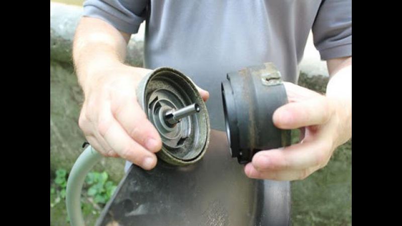 Как заменить снять косильную головку электрического триммера Black Decker GL716
