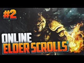 Прохождение The Elder Scrolls Online #2 - ВСТРЕЧА С КАДЖИТОМ