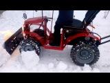 Мини трактор из мотоблока салют (унтик)