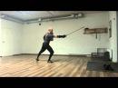 Bolognese swordsmanship cutting exercises